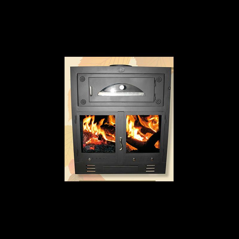 Estufas le a minerva 80 con horno - Estufa cocina lena ...